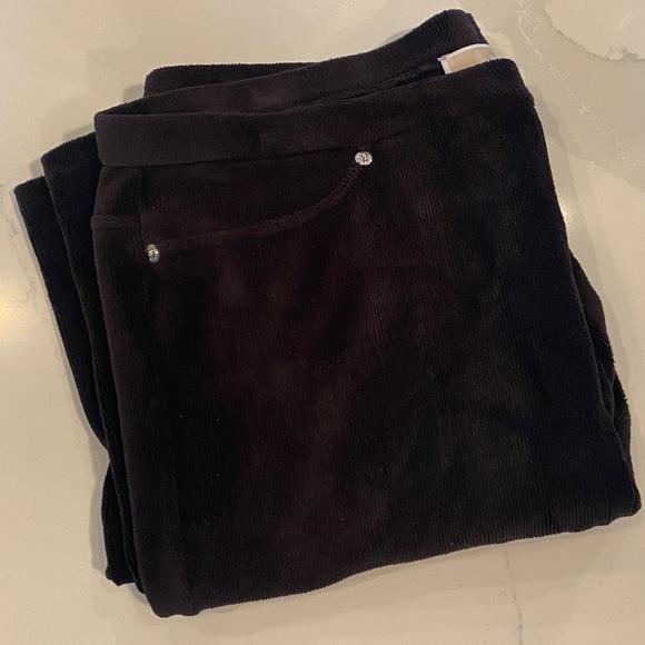 Michael Kors Velvet Corduroy Leggings